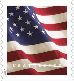 2017 US Flag Definitive Postage Stamp